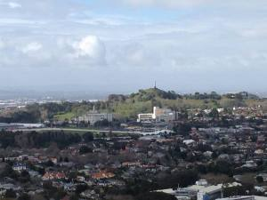 View from Mt Eden of One Tree Hill